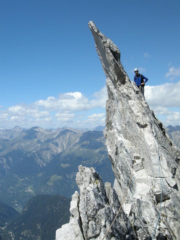high over the Bondasca/Bergell Valley