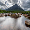 Flowing into the Buchaille