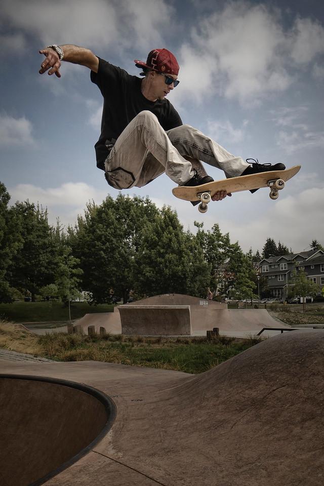 Skate Park, Seattle, Travel, Explore