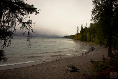 Rainy Day at Lake McDonald