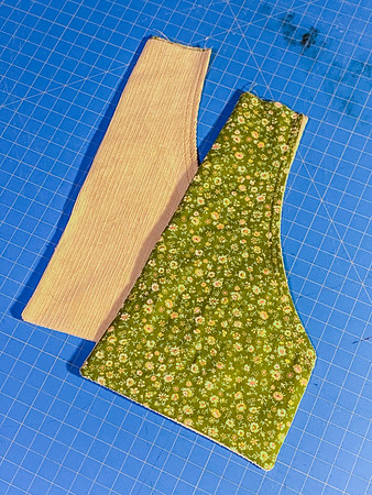 My favorite change to the pattern was to use a cotton lining on the insides of all the patch pockets.