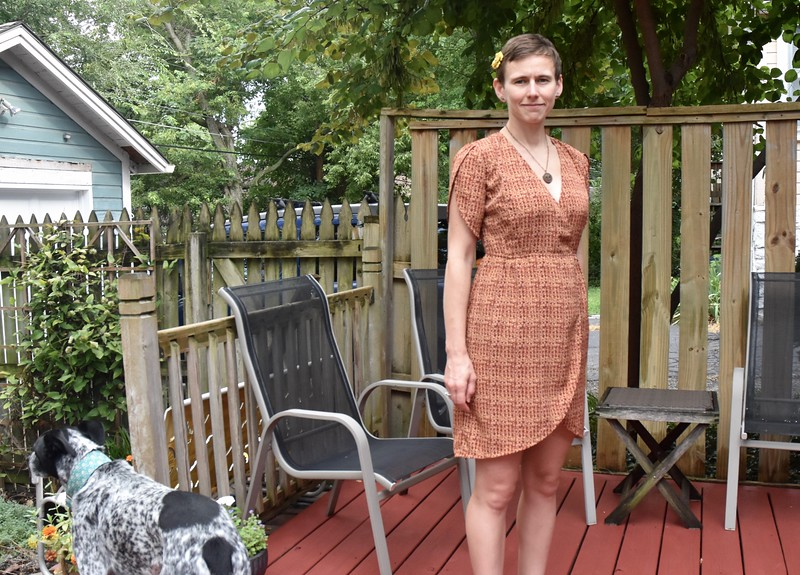 Usually when I make a wearable muslin, I make the smaller project first, such as the shirt version of a dress.