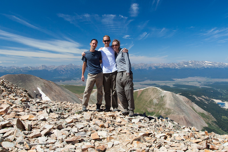 Mt. Sherman  14,036ft