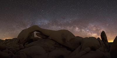 Arch Rock Milky Way Pano - Sigma 14-24 f2.8 ART DG HSM | A