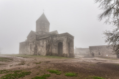 Foggy morning at Tatev monastry. one of the beautiful weather from the shoot.