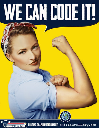 "Vintage Image of the ""We can do it!"" Rosie the Riveter Poster by J Howard Miller"
