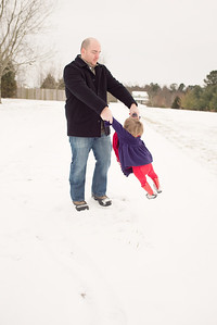 Faster Daddy Faster. Her boots fell off so many times while we were out playing in the snow.