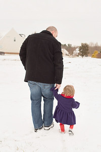 Walking with Daddy. So Sweet.