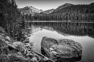 Monochrome Rockies