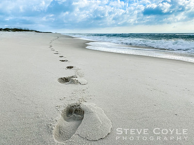 Sandy Footprints