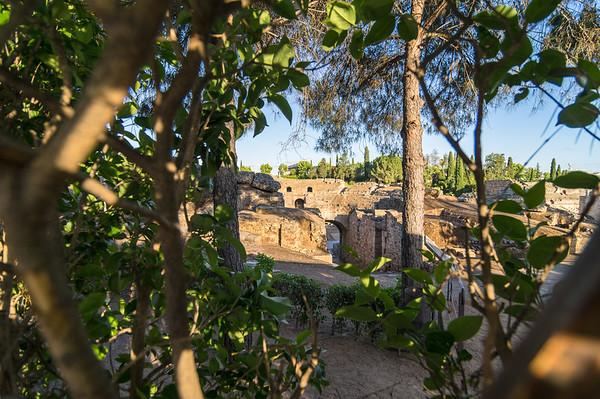Roman amphitheater, Merida