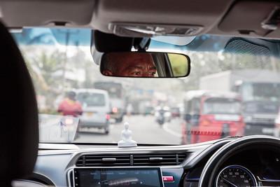 Driving in Colombo, Sri Lanka