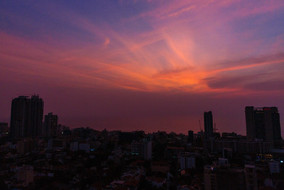 Skyline Sunset in Colombo