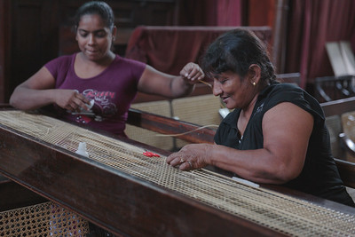 Ladies working in the Dutch Church in Colombo