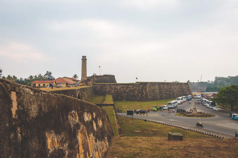 Galle Walls and Clock Tower