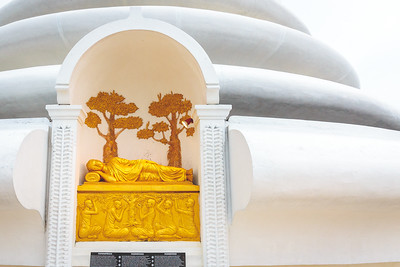 The Japanese Peace Pagoda