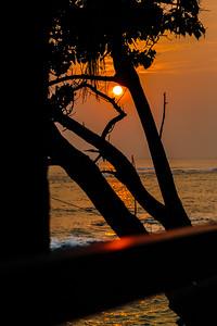 Sunset in Unawatuna
