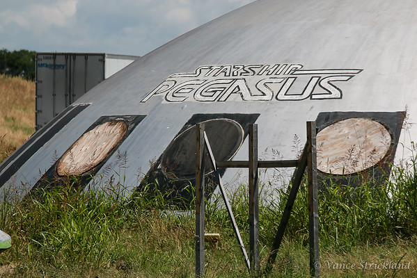 Dome of Starship Pegasus building