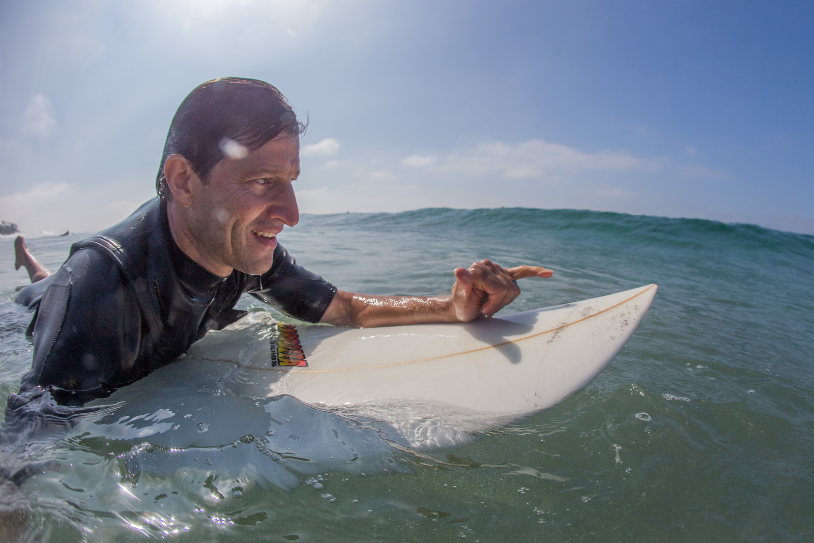 surfing at south ponto beach brad edward's memorial paddle out