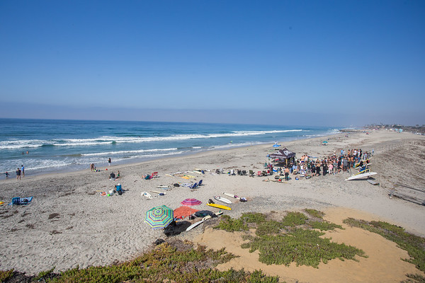South Ponto Memorial Paddle Out