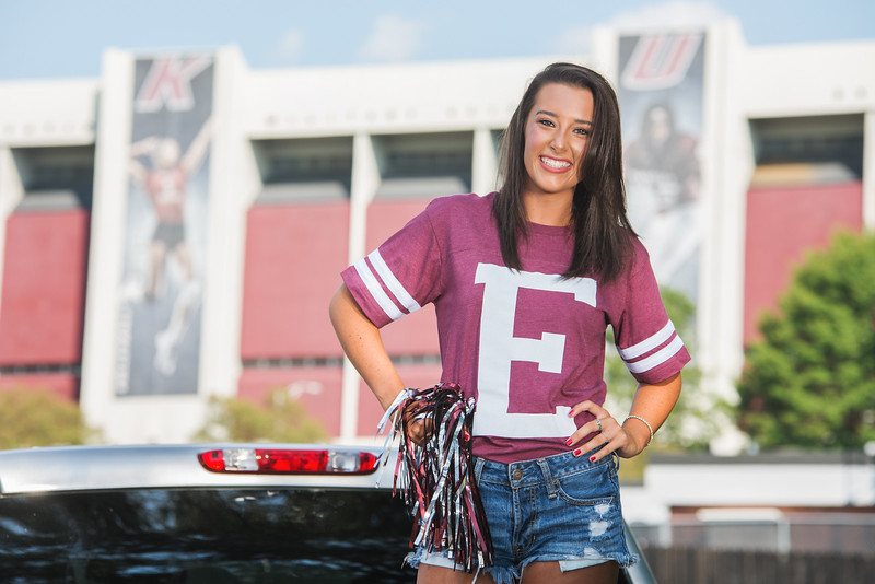 EKU Tailgating with the Class of 2018 BMCSenior crew