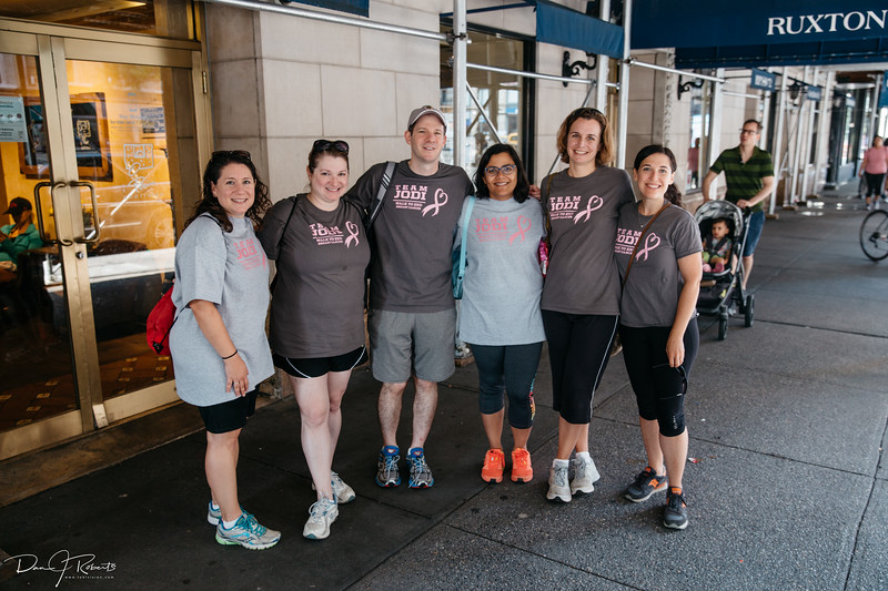 Team Jodi after breakfast