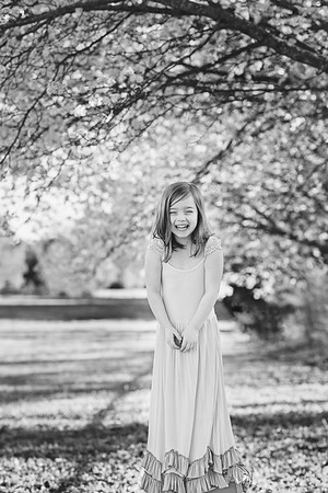 2018 Feb Bradford Pear Tree Bloom Madeline-16 BW