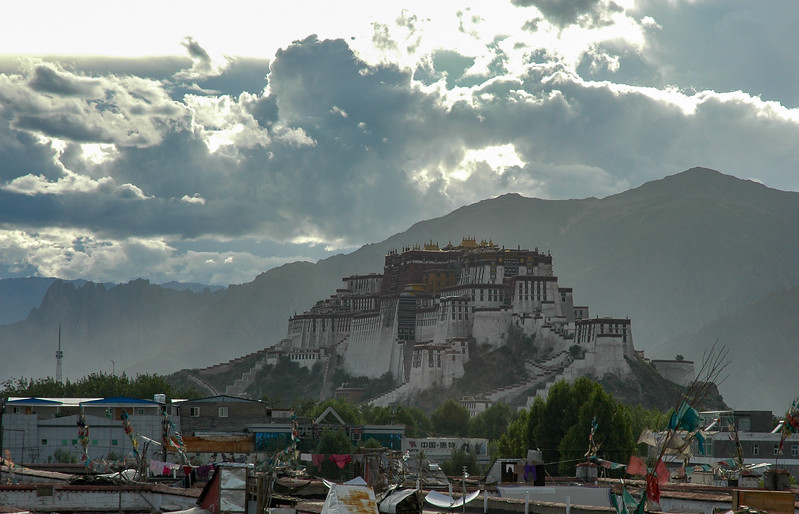 Storm clouds over the Potala