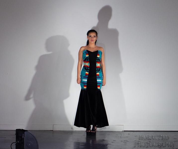 Tishynah Buffalo Designs by Horaczko Photography at Heartland London Fashion Week FW17 February 2017