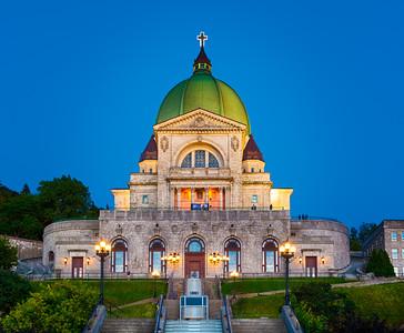 Saint-Joseph's Oratory at twilight