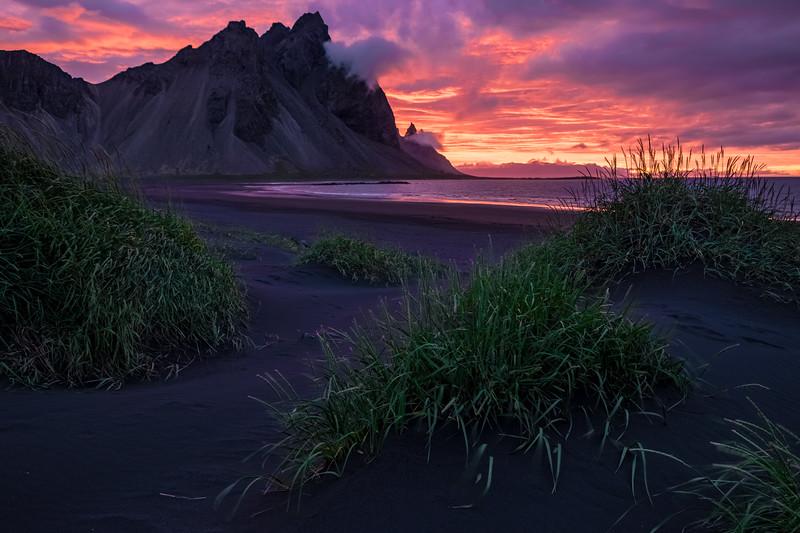 Sunrise in Stokknes