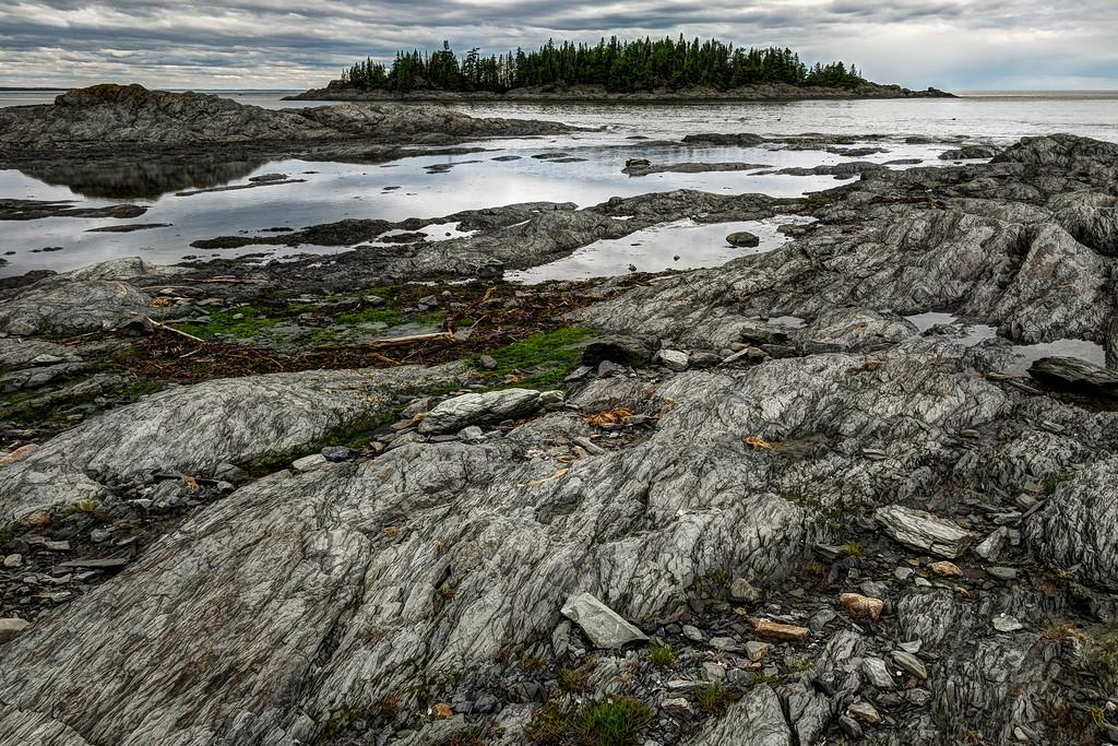 Rocky coast of the Saint-Lawrence
