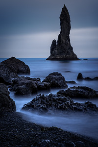Sea stacks at Reynisfjara