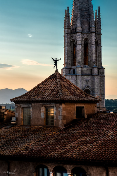 View from the Cathedral of Girona