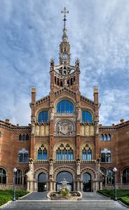 Hospital de la Santa Creu i Sant Pau in Barcelona