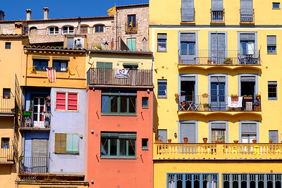 Medieval townhouses in Old Girona