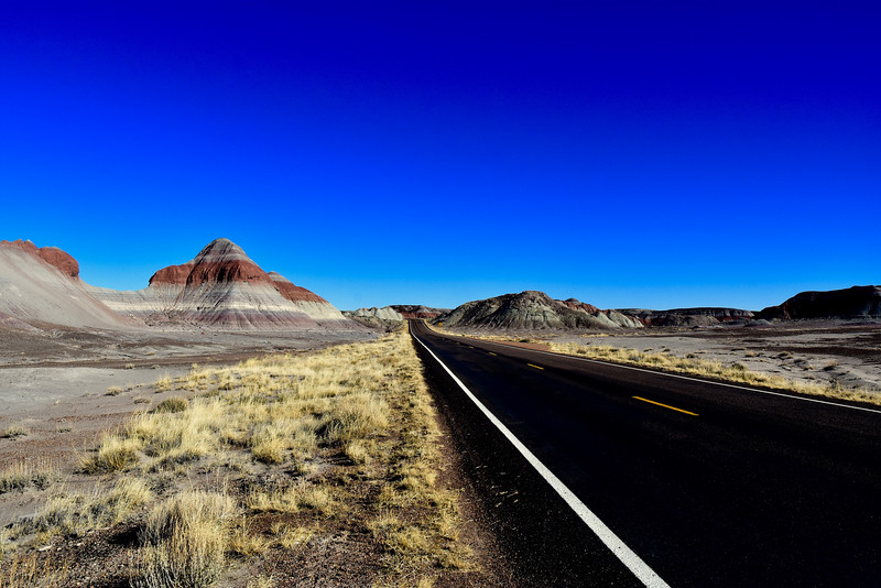 I took this photo after driving through a section called The Tepees, where I really wanted to take a photo, but there was no turnrout. It was so cool, the blackest hills I'd ever seen.