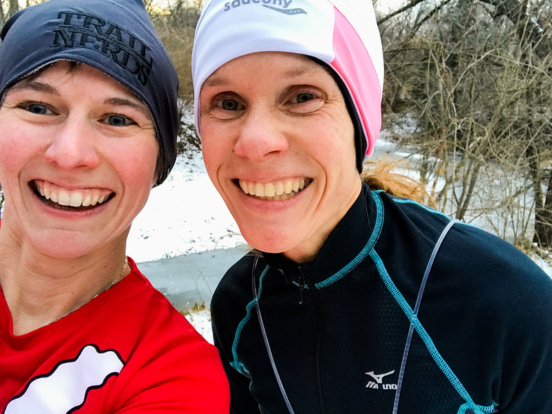 """We spent Christmas with Mikey's family, and I left a little early to run with Michelle, who even got on a bit of dirt!<br /> <br /> <a href=""""https://connect.garmin.com/modern/activity/2396463169"""">https://connect.garmin.com/modern/activity/2396463169</a>"""