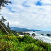 Looking south toward Cannon Beach and across Crescent Beach. Can you see why we visit the Oregon Coast so regularly?