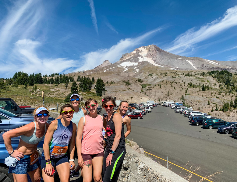 I've never seen such clear skies at Timberline Lodge/Photo by Stephanie Wang.