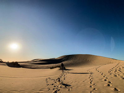We had time to climb a dune in adjoining Oregon Dunes National Recreation Area before sunset.
