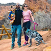 That afternoon all four of us went for a walk at Red Rocks.