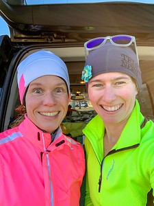 Michelle joined me for my coldest run of the trip: https://connect.garmin.com/modern/activity/3242554961