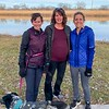 Susie and I didn't get to run with Jennifer, as she was just about due to have her baby, so we went on a walk along the river in Lawrence. Her and Tyler's baby boy arrived Dec. 29!