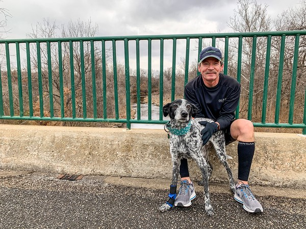 Don dug his running shoes out of the back of the closet to join the mutts and me for a few miles: https://connect.garmin.com/modern/activity/3236569073.