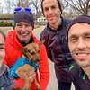"Lindsey and I met Christmas Eve in Lawrence for some trail time while her husband and a friend ran the levee: <a href=""https://connect.garmin.com/modern/activity/3244824546"">https://connect.garmin.com/modern/activity/3244824546</a>."