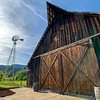 Tin Roof Barn in White Salmon, Wash., where Leslie and Erik got married. It was beautiful!