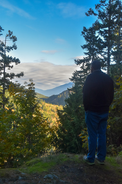 We spent the rest of the day driving around the Olympic Peninsula checking out some potential future camping spots and made dinner at one of them. And then drove home in the dark.