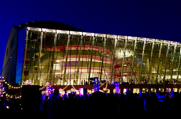 We've been conveniently close to the best parts of Kansas City. We are members of both the KC Rep and ballet. One of our favorite places has been Kauffman Center for the Performing Arts.  We attended Kauffman's fifth birthday celebration this September.
