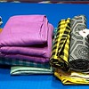 We also made it to a few favorite fabric shops (shocking!), where I bought more fabric I didn't need to add to my stash. But they're fantastic! From left, cottons and a silk from Stitchology in Albuquerque in the two left piles (the flannels feel soooooo soft after pretreating), cottons from Fancy Tiger Crafts in Denver, and all the supplies I need for a really nice Bellatrix blazer from Elfriede's Fine Fabrics in Boulder, Colo.